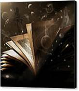 Bedtime Stories Canvas Print by Hazel Billingsley