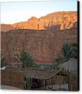Beduin Camp In The Sinai Desert Egypt Canvas Print by Colette V Hera  Guggenheim