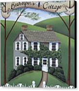 Beekeeper's Cottage Canvas Print by Catherine Holman