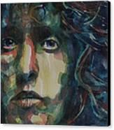 Behind Blue Eyes Canvas Print by Paul Lovering