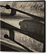 Behind The Barrier Canvas Print by Odd Jeppesen