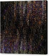 Behind The Curtain Canvas Print