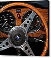 Behind The Wheel Canvas Print by Odd Jeppesen