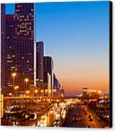 Beijing Central Business District China Canvas Print by Fototrav Print
