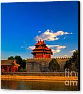 Beijing Forbidden City Canvas Print
