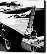 Bel Air Bw Palm Springs Canvas Print by William Dey
