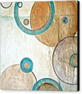 Belief In Circles Canvas Print by Debi Starr