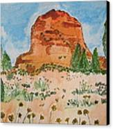 Bell Rock Canvas Print by Marcia Weller-Wenbert