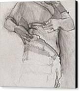 Belly Dancer Canvas Print by Jani Freimann