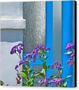 Belmont Shore Blue Canvas Print