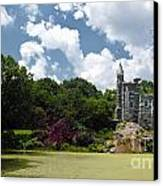 Belvedere Castle Turtle Pond Central Park Canvas Print