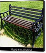 Bench #18 Canvas Print