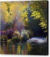 Bending With The River Canvas Print