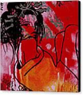 Beni Canvas Print