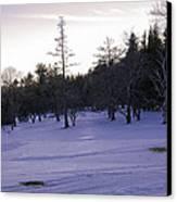 Berkshires Winter 5 - Massachusetts Canvas Print