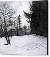Berkshires Winter 9 - Massachusetts Canvas Print