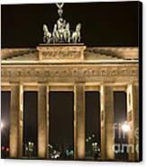Berlin Brandenburg Gate Canvas Print by Frank Tschakert
