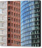 Berlin Buildings Detail Canvas Print by Matthias Hauser