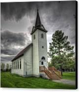 Bethany Prairie Church Canvas Print