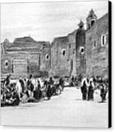 Bethlehem Painting 1928 Canvas Print by Munir Alawi