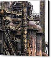 Bethlehem Steel Series Canvas Print by Marcia Lee Jones