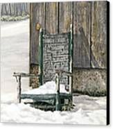 Better Days - Winter Canvas Print