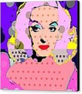 Betty Davis Canvas Print by Ricky Sencion