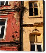 Beyoglu Old Houses 02 Canvas Print by Rick Piper Photography