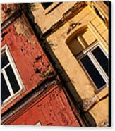 Beyoglu Old Houses 03 Canvas Print by Rick Piper Photography