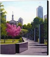 Bicentennial Capital Mall Park Canvas Print by Janet King