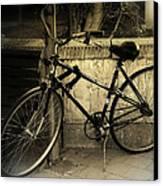 Bicycle Canvas Print by Amr Miqdadi
