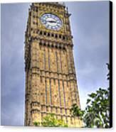 Big Ben - Elizabeth Tower Canvas Print by Skye Ryan-Evans