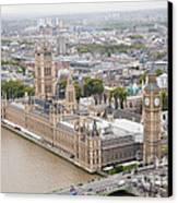 Big Ben Westminster Canvas Print by Donald Davis