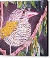 Big Bird Canvas Print by Linda Vaughon
