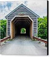 Big Covered Bridge Canvas Print by Jason Brow