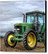 Big Green Tractor Canvas Print by Robert Jones