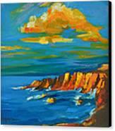 Big Sur At The West Coast Of California Canvas Print by Patricia Awapara