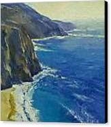 Big Sur California Canvas Print by Michael Creese