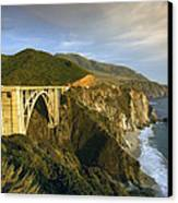 Big Sur Canvas Print by Christian Heeb