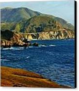 Big Sur Coastline Canvas Print by Benjamin Yeager