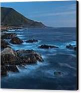 Big Sur Coastline Canvas Print by Mike Reid