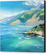 Big Sur Serenity Canvas Print