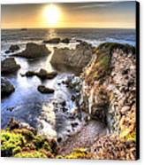 Big Sur Sunset Canvas Print by Shawn Everhart