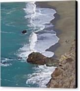 Big Sur Surf Canvas Print by Art Block Collections