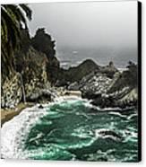 Big Sur's Emerald Oaza Canvas Print
