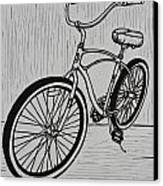 Bike 6 Canvas Print by William Cauthern