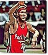 Bill Walton Canvas Print by Florian Rodarte