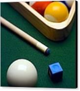 Billiards Canvas Print