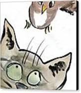 Bird Canvas Print by Ellen Miffitt