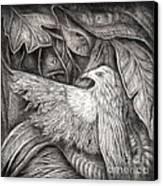 Bird Of Life Canvas Print by Praphavit Premtha